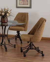 Poker Table Chairs With Casters by Denver Chair 1 Dining With Casters Room Furniture Page1 Chairs On