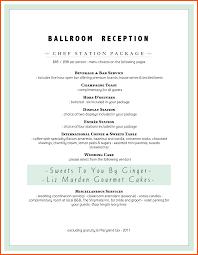 catering resume sample catering resume sample menu format template free qa lead resume sample catering menu template ballroom reception catering menu template