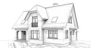 architecture house drawing nice and architecture house blueprint