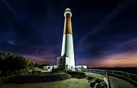 light house at night barnegat lighthouse at night edward reese photography