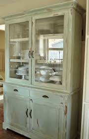 glass door kitchen cabinet captivating kitchen hutch furniture featuring brown color wooden