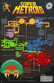 Metroid 2 Map Super Metroid Infographic By Mastastealth On Deviantart