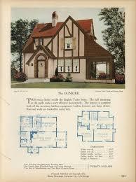 Old English Tudor House Plans 606 Best Vintage House Plans Images On Pinterest Vintage Houses