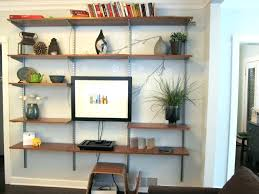 captivating wall shelves dining room ideas best image engine