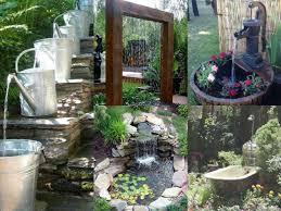 fontane per giardini 15 idee per realizzare laghetti fontane e giardini acquatici