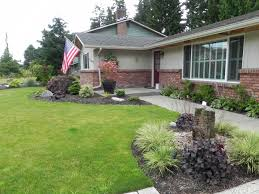 Landscape Ideas For Front Of House by Gallery Of Simple Landscaping Ideas With Garden Cheap For Front