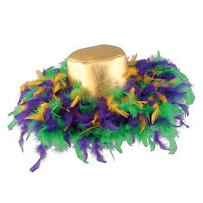 mardi gras hat mardi gras feather hat caufields