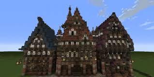 three building three merovian houses minecraft building inc