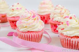 pink velvet cupcakes living well mom