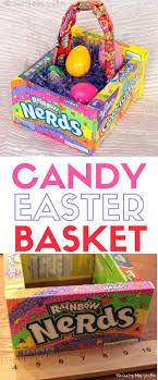 easter basket how to make a candy easter basket the crafty stalker
