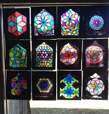 stained glass window lesson plan islamic stained glass windows artful artsy amy