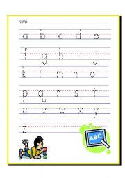 worksheet alphabet practice sheets