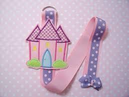 hair clip holder felt castle hairclip holder