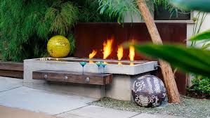 Fire Pit Backyard Ideas For Fire Pits Sunset