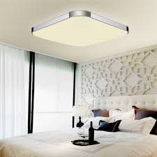 Wohnzimmer Deckenbeleuchtung Modern Sailun 36w Warmweiß Led Deckenleuchte Schlafzimmer Moderne