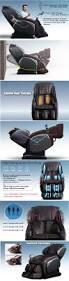 Osaki 4000 Massage Chair Titan Osaki Brown Faux Leather Reclining Massage Chair Os 4000ls