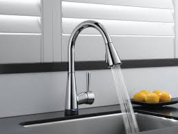 new kitchen with new pull down faucet u2014 the furnitures