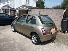 nissan micra for sale bristol nissan micra 1 2 se in mint condition with motorhome tow frame
