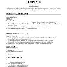 american resume sles for hotel house keeping download housekeeping resume sles haadyaooverbayresort for