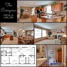 modular homes open floor plans the curryview 3 br 2 bath home with an open floor plan featuring