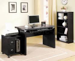 Dual Desk Home Office Home Interior Home Office Design In Private House With Large