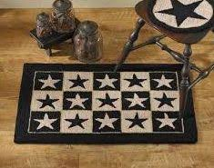 Primitive Kitchen Rugs 25 Best Primitive Rugs Images On Pinterest Country Decor