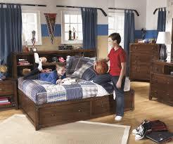 Ashley Furniture Trundle Bed Twin Delburne Full Size Storage Bed B362 Ashley Kids Furniture