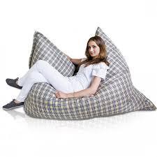 style premium large bean bag chair