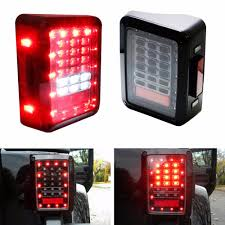 jeep back lights online shop for jeep wrangler jk tail light led reverse brake