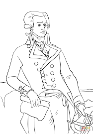 marquis de lafayette coloring page free printable coloring pages