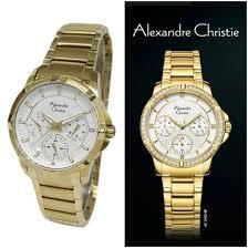 Jam Tangan Alba Emas jam tangan alexandre christie wanita gold til ekslusif jual jam
