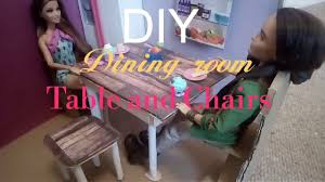 diy barbie dining table chairs and coffee table oodles of