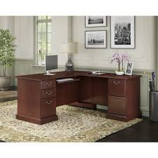 Bush Bennington L Shaped Desk Kathy Ireland Office Bennington L Desk Free Shipping Today