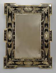 interior collosal antique venetian mirror for home decorating