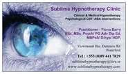 Hypnotherapy Business Cards Hypnotherapy Ireland Holistic