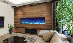 Electric Wall Fireplace 72