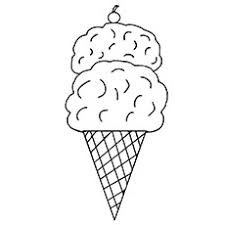 25 free printable ice cream coloring pages