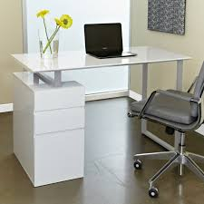 White Office Furniture Monarch Hollow Core Left Or Right Facing 48 In Desk White