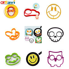 kitchen emoji 7 style diy owl rabbit silicone fried egg mold ring cooking