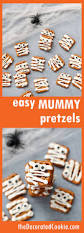 halloween pretzel spider webs tutorial so cute halloween party