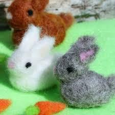 bunnies for easter needle felted bunnies sweet treasures living felt