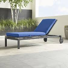 Chaise Lounge Outdoor Outdoor Chaise Lounges Crate And Barrel