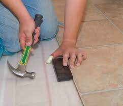 installing a tile pattern laminate floor how to