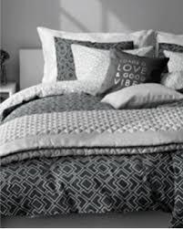 amazon com mid century modern bedding charcoal grey geometric