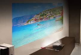 Lg Ph450u Ultra Short Throw Led Projector With Embedded Battery