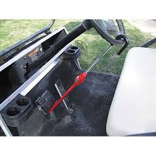 the club golf cart security lock golf cart steering wheel lock