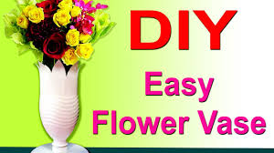 Decorate Your Home Diy Easy Plastic Bottle Flower Vases To Decorate Your Home Youtube