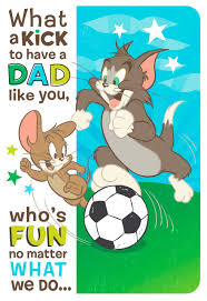 fun with tom and jerry from son father u0027s day card greeting cards