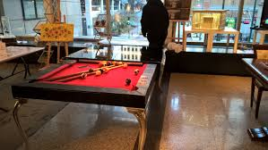 pool table movers chicago 7 slate pool table with dining room top sold used pool tables