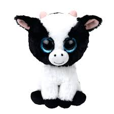 beanie boos butter plush stuffed animal cattle collectible